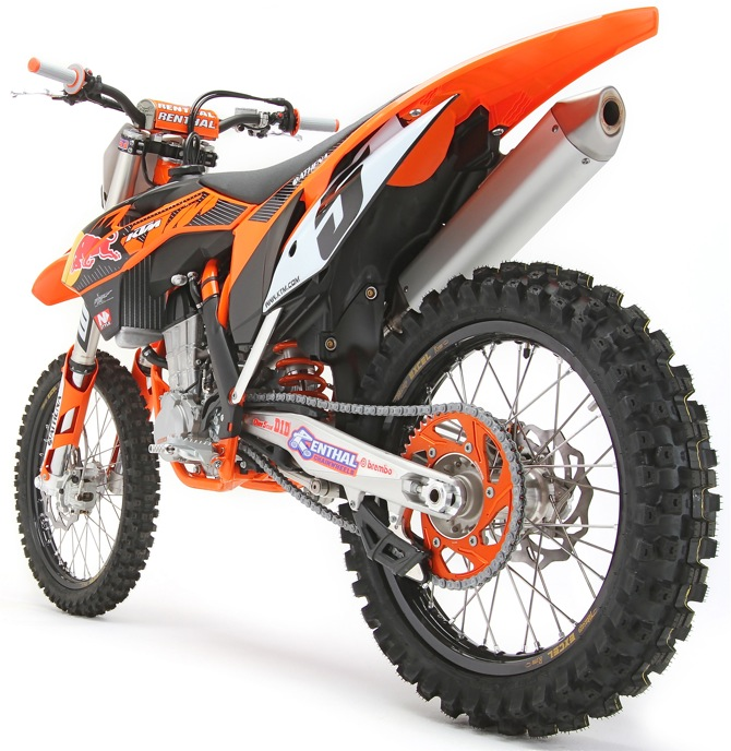 EXCLUSIVE LOOK INSIDE THE KTM 450SXF-FE: THE BIKE THAT ROGER