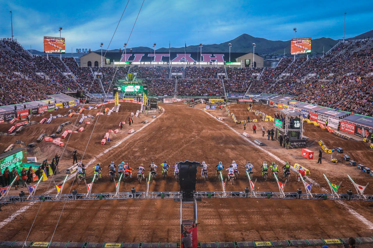 Official Supercross Back To Racing End Of May In Utah Motocross Action Magazine
