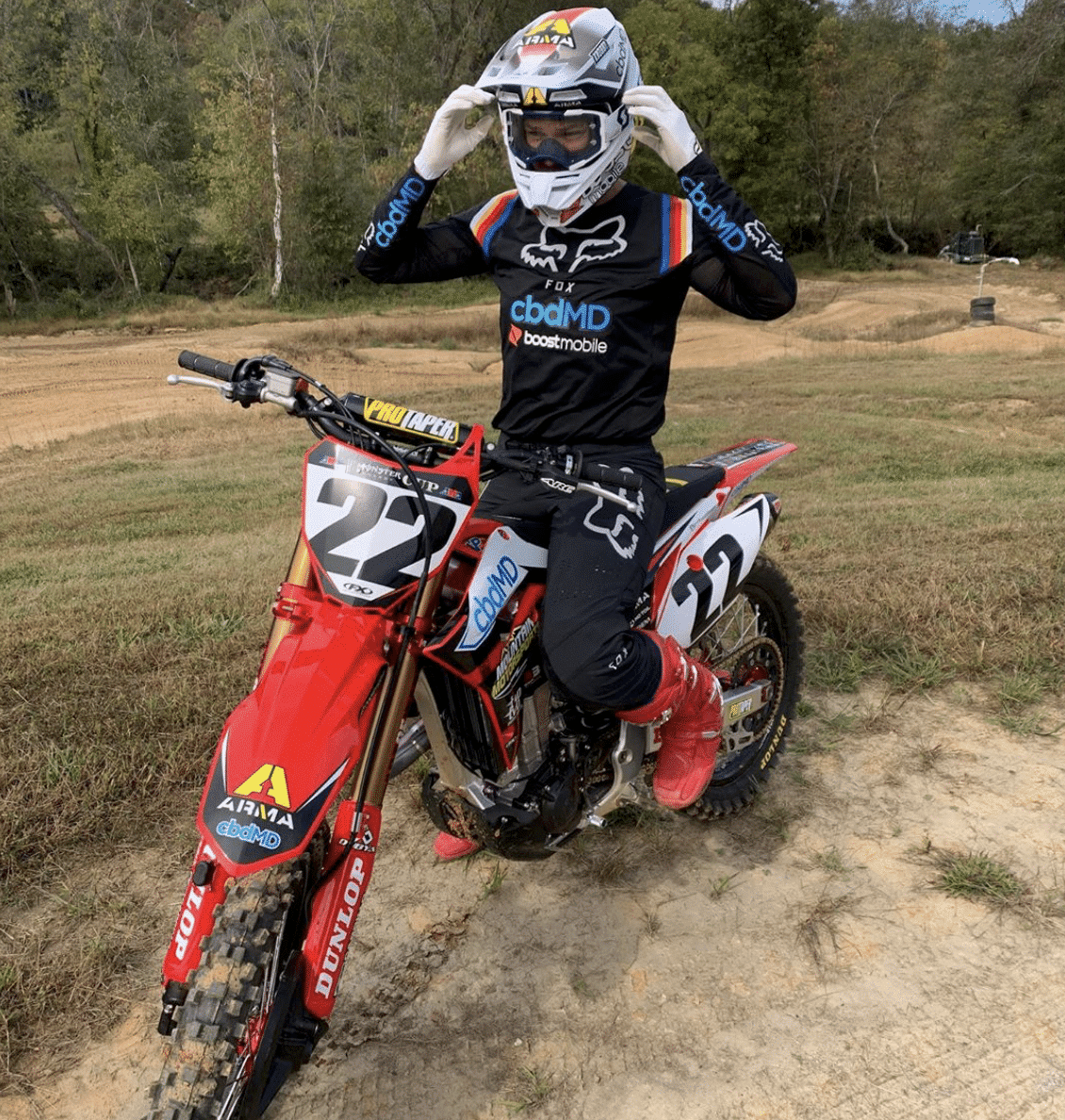 CHAD REED IN FOR 2019 MONSTER ENERGY CUP (UPDATED