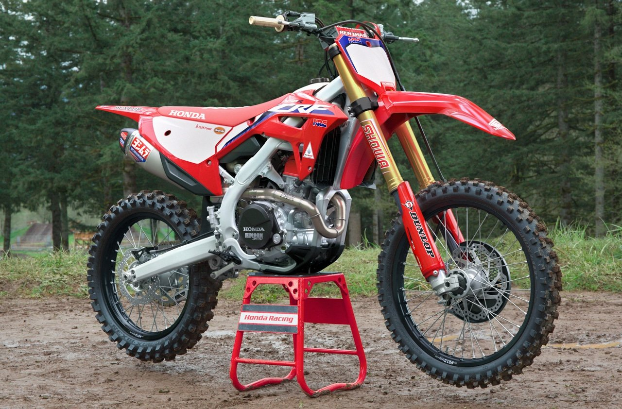 first look! the 2021 honda crf450 is new from head-to-toe