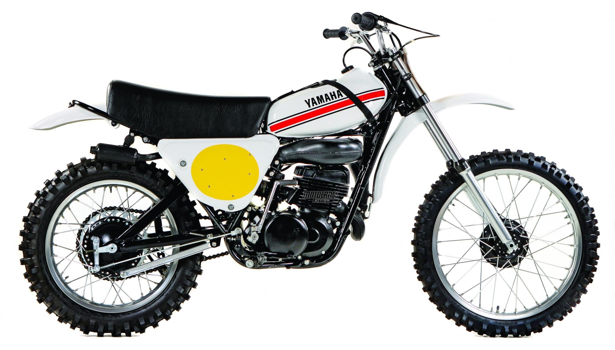 Classic Motocross Iron 1974 Yamaha Yz360b Monoshock Motocross Action Magazine