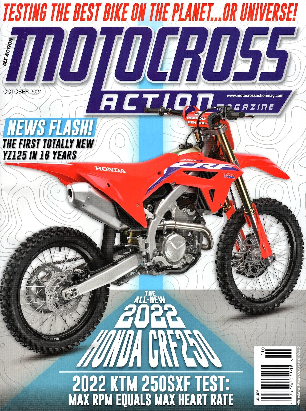 Have You Seen The Newest Issue Of Mxa? It Is Jam-packed Full Of Motocross, Motocross And More Motocross